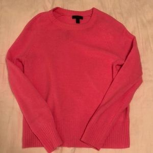 Pink Sweater 100% Wool